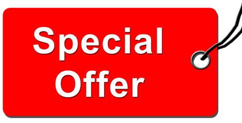 Etikett Special Offer
