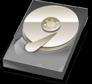 Older spindle hard disk drive